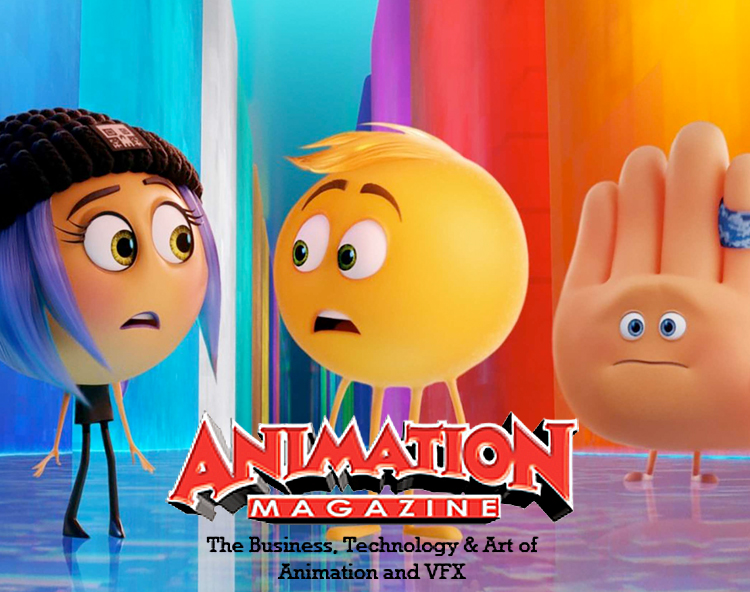 Animation Magazine: Emoji Movie A New Dimension