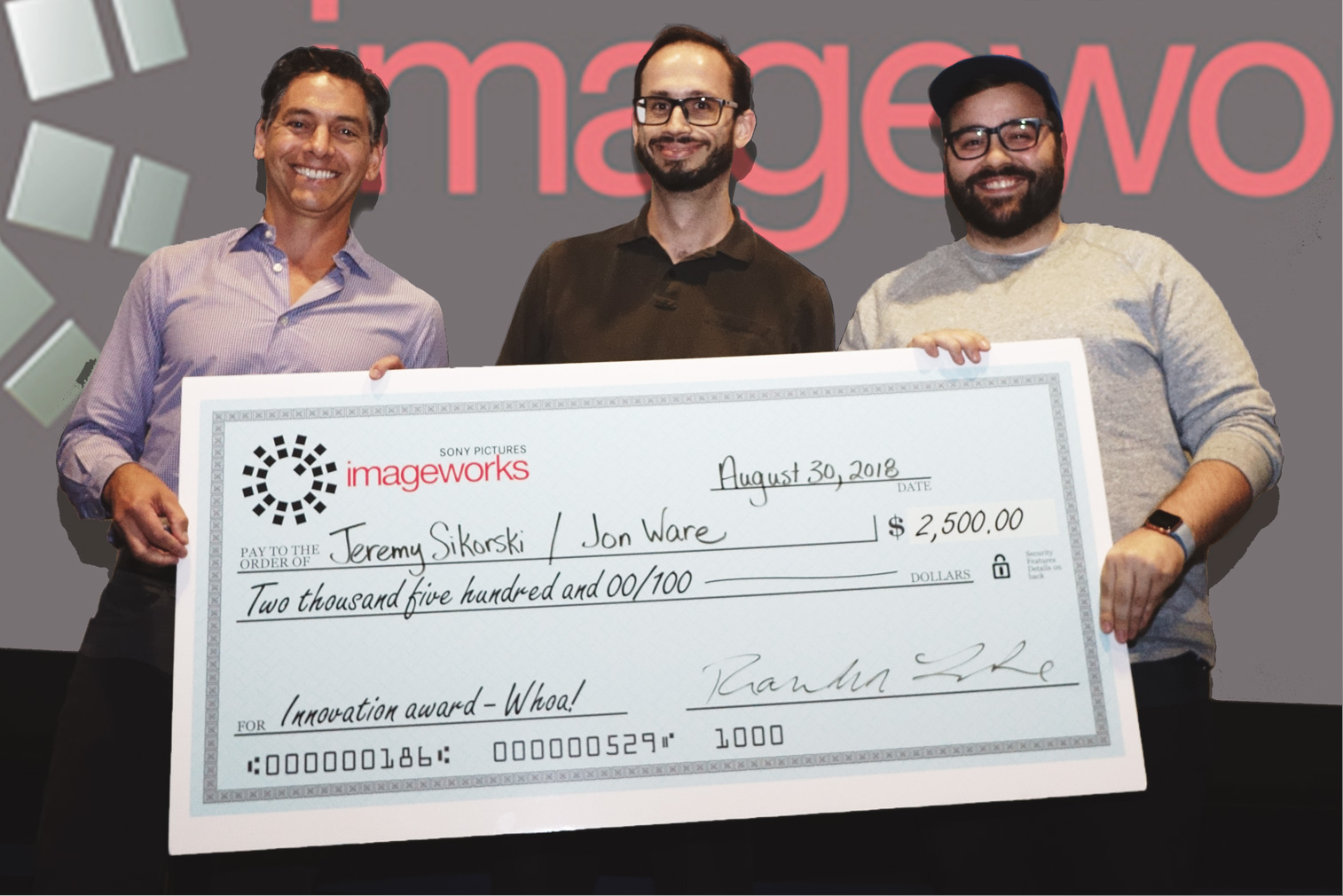Imageworks Innovation Awards 2018 3