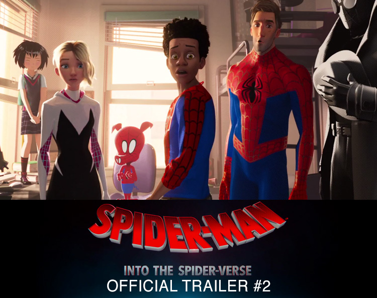 SPIDER-MAN: INTO THE SPIDER-VERSE - Official Trailer #2