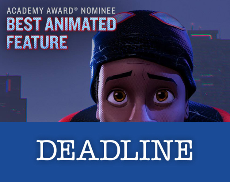 Spider-Man: Into the Spider-Verse Academy Award nomination
