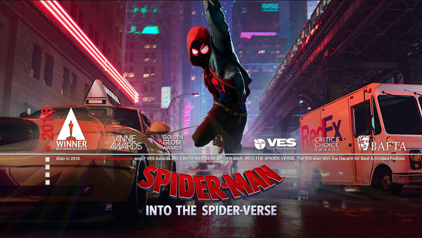 2018 Spider-Man: Into the Spider-Verse