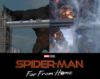 Sony Pictures Imageworks teams up with Marvel to deliver 325 visual effects shots for the Homecoming sequel!